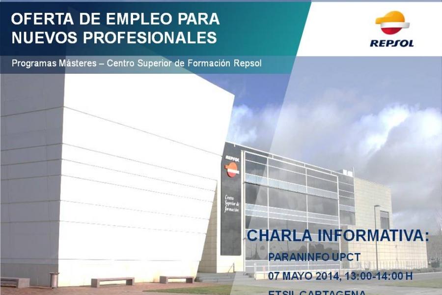 Repsol Presenta Este Miércoles Sus Másteres De Especialización