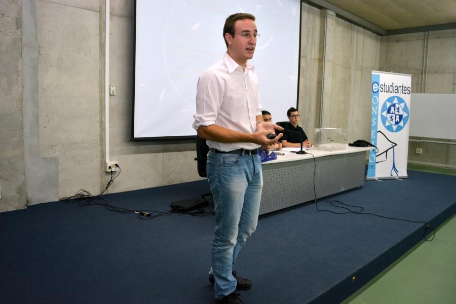 Óscar Huarte Belzunce, Nuevo Presidente Del Consejo De Estudiantes