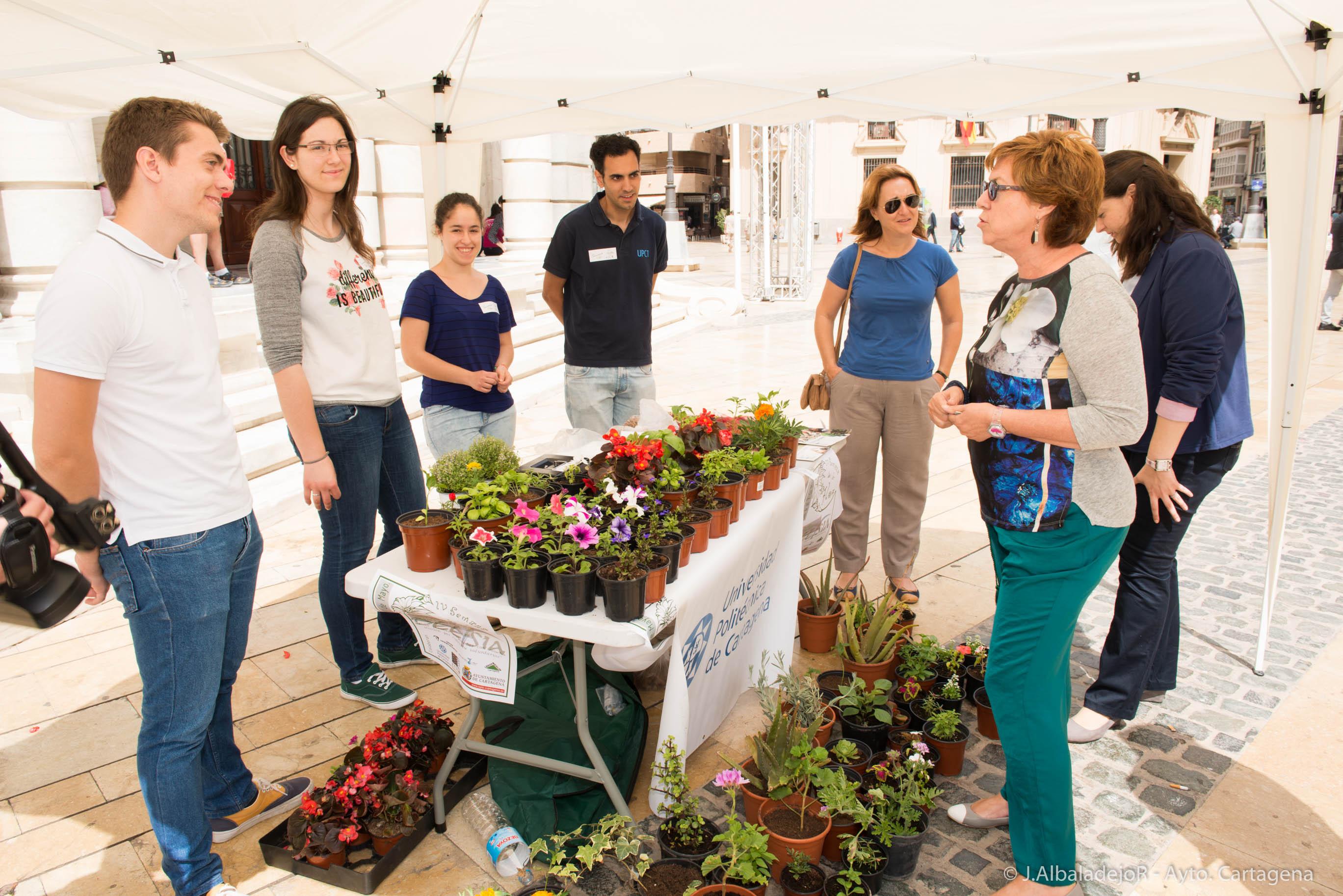 La Escuela De Agrónomos Celebra Su Semana De La Flor