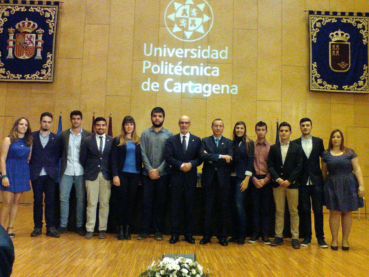 Representantes Estudiantiles Acuden A La Toma De Posesión Del Rector, Alejandro Díaz Morcillo