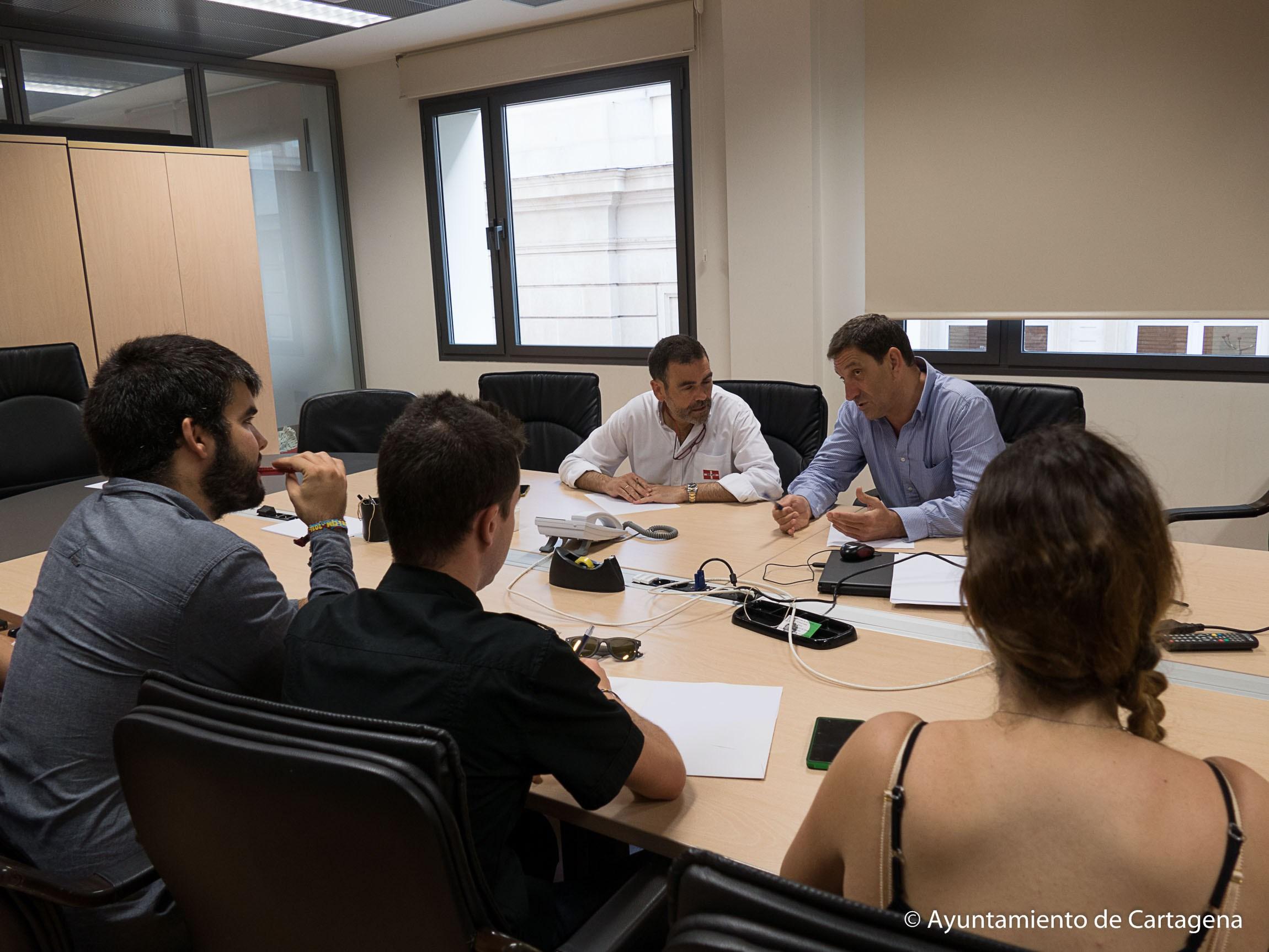 Reunion Alcalde CEUPCT Jose Lopez Junio 2016