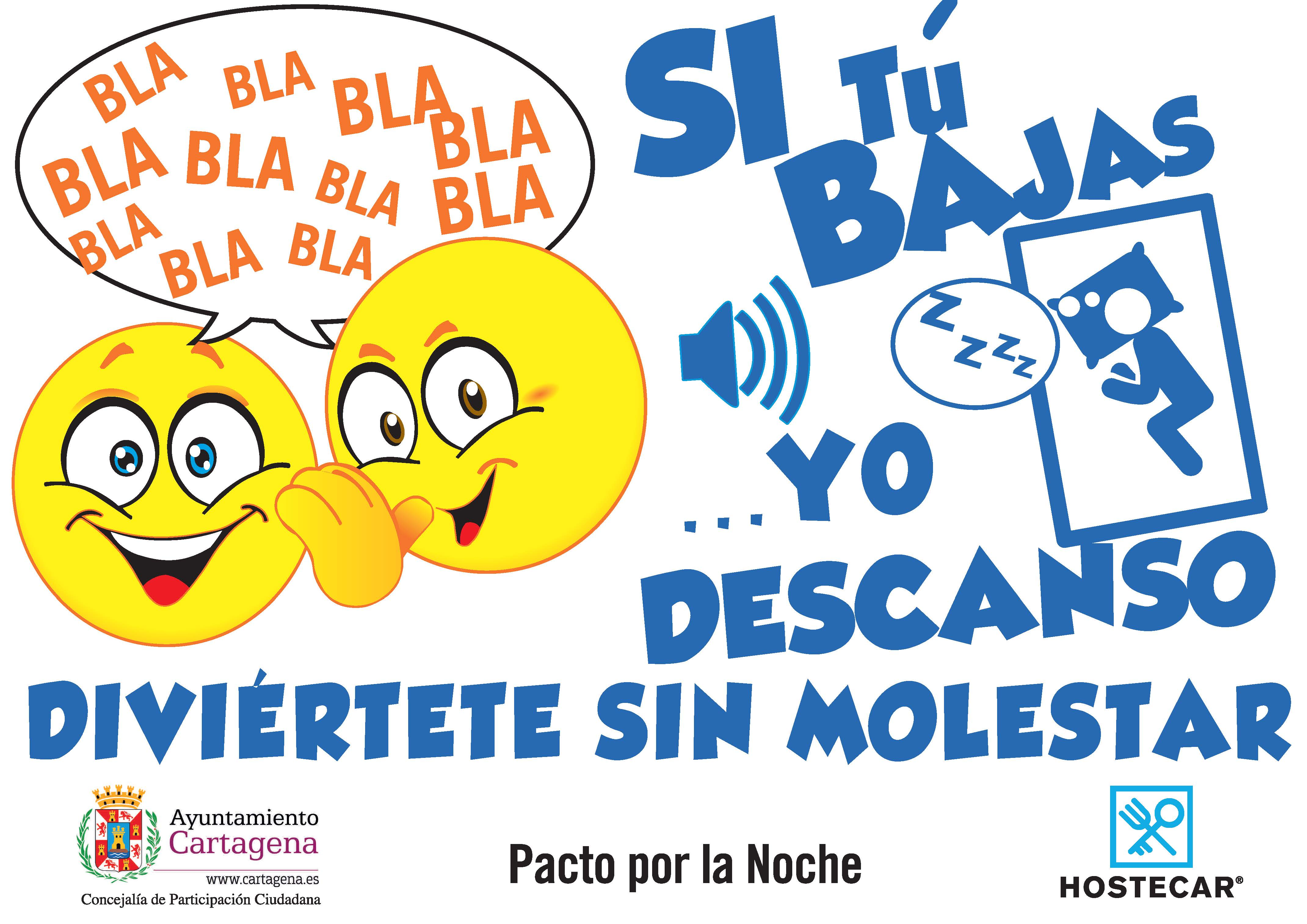Campaña Ruido Ayuntamiento Pacto Por La Noche