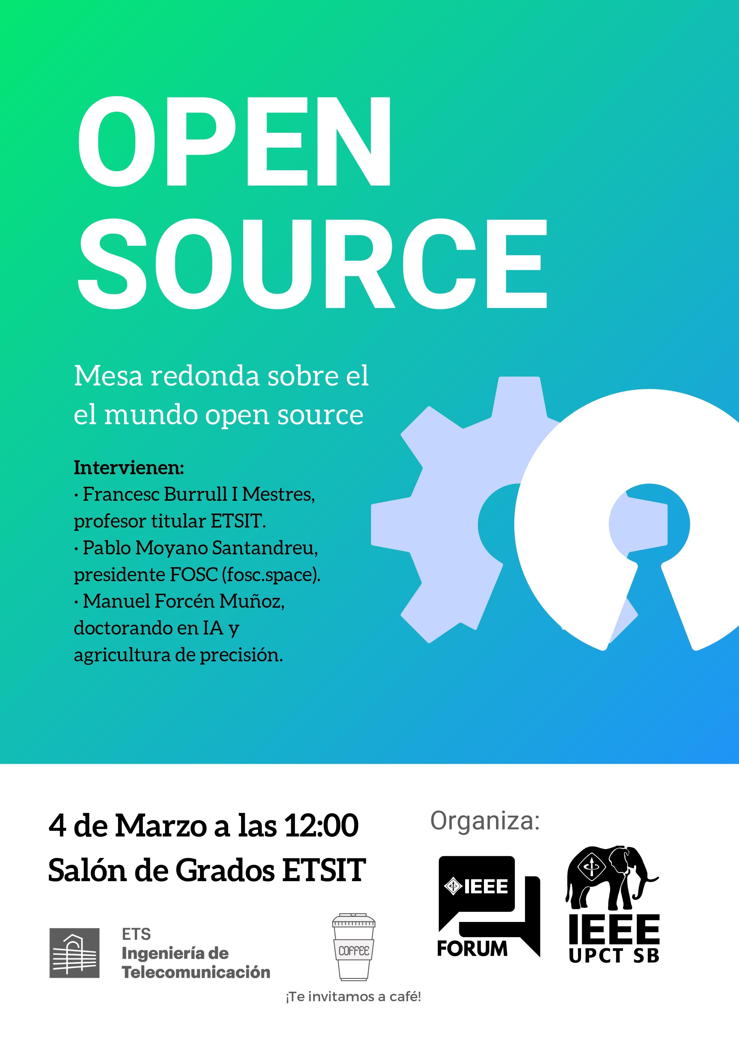 Mesa Redonda Sobre El Mundo Open Source